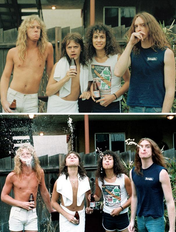 Группа Metallica в 1985 году.