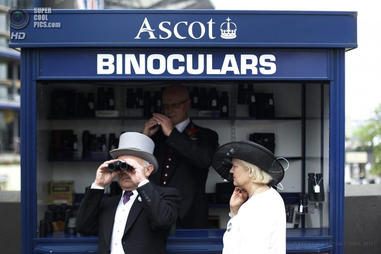 Открытие скачек Royal Ascot
