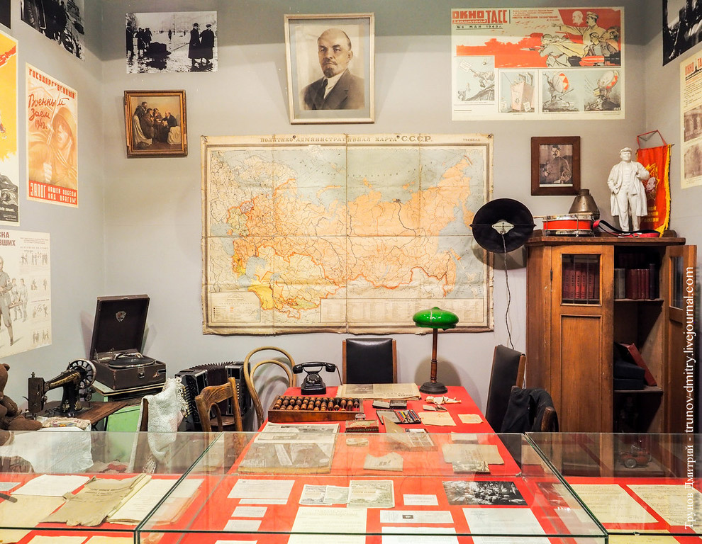 38. В музее представлено больше 20 000 экспонатов и чтобы изучить всё вам понадобится пару часо