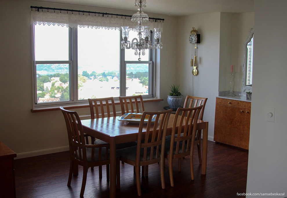 6. Получается отдельная зона для готовки, отдельная для еды и отдельная для отдыха.