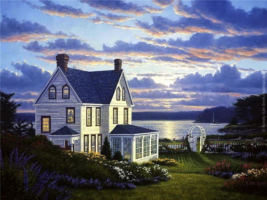 Рэнди ван Бик: прекрасные пейзажи американского художника самоучки