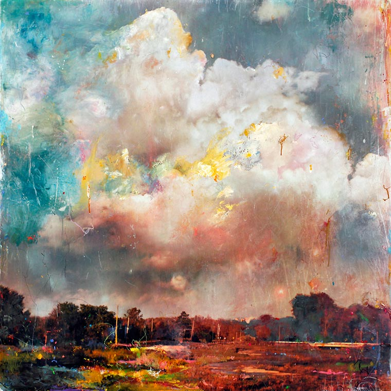 Between painting and photography - The fascinating landscapes of Stev'nn Hall