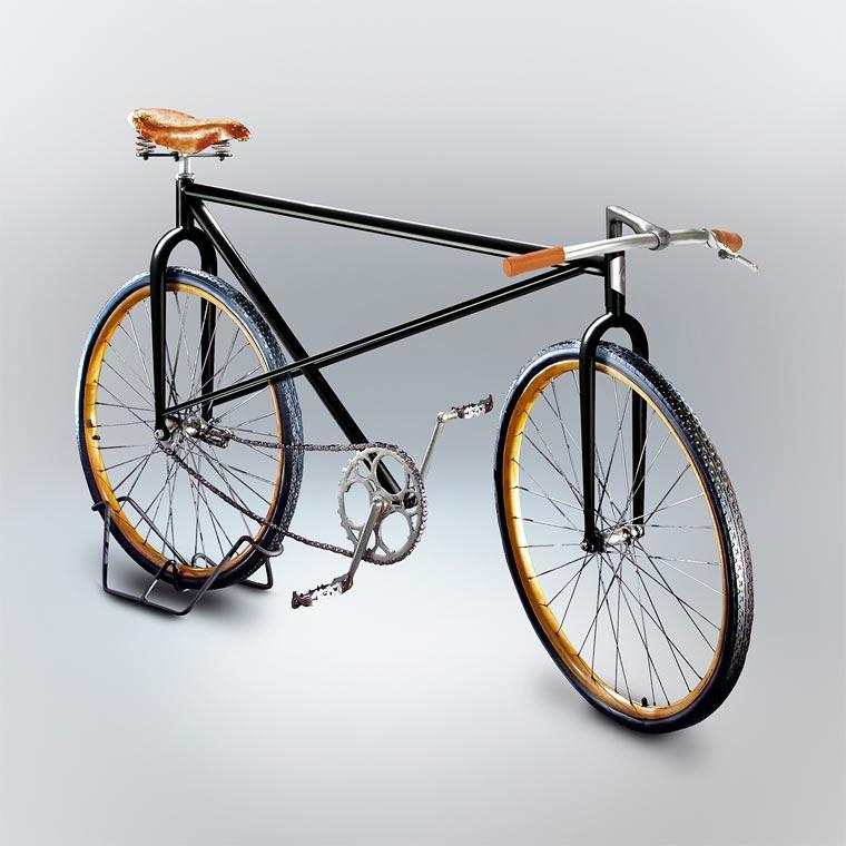 A designer reveals the improbable bikes designed by his friends (23 pics)