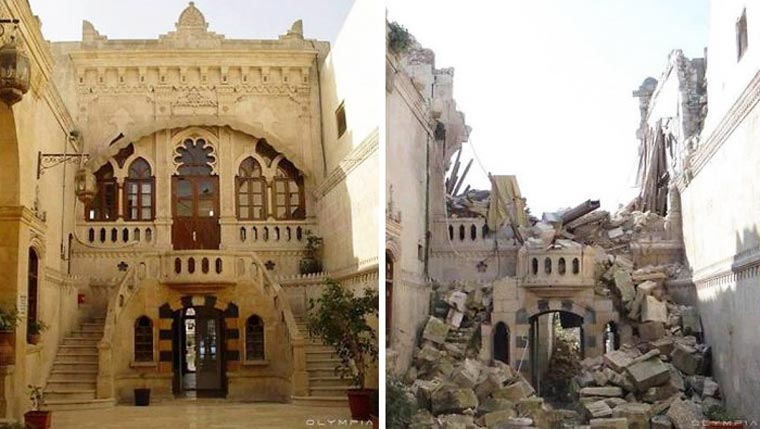 Before / After - Ravages of war in Syria