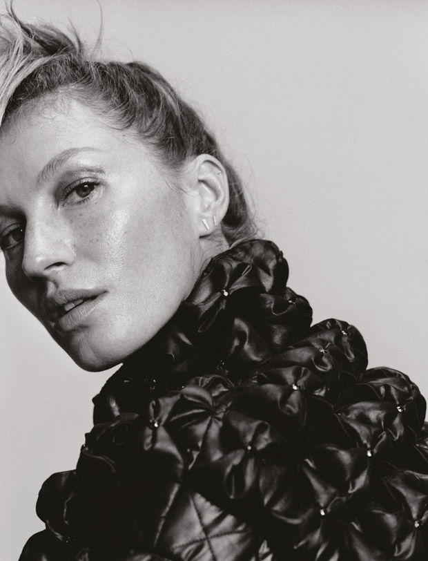 Gisele Bundchen for Pop Magazine by Harley Weir