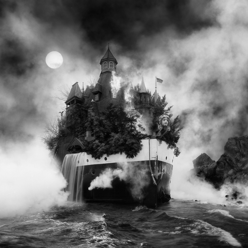 Inspired in part by the classic horror literature of H.P. Lovecraft, artist Jim Kazanjian ( previous