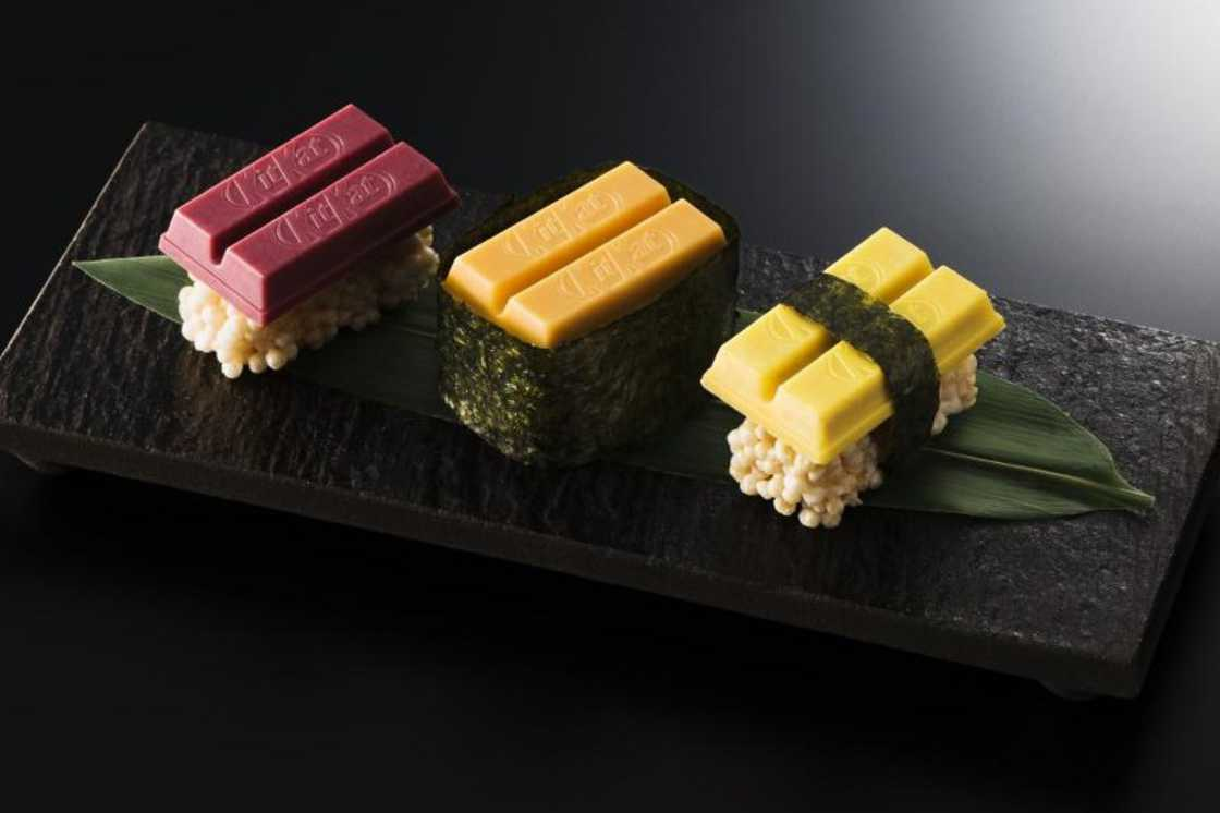 Tuna, Sea Urchin and Egg - New Kit Kat Sushi launched in Japan