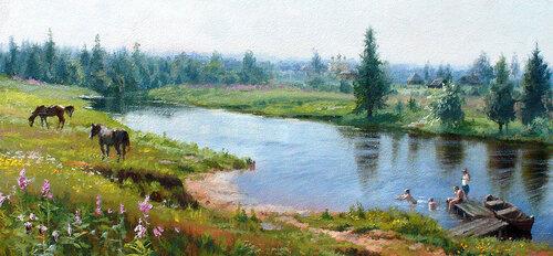 Прогулка в лето-В. Жданов