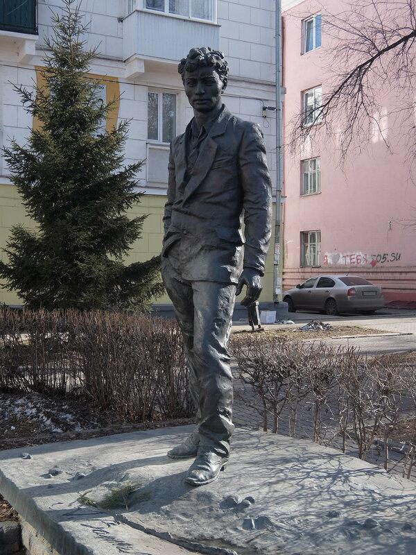Иркутск - Памятник Вампилову