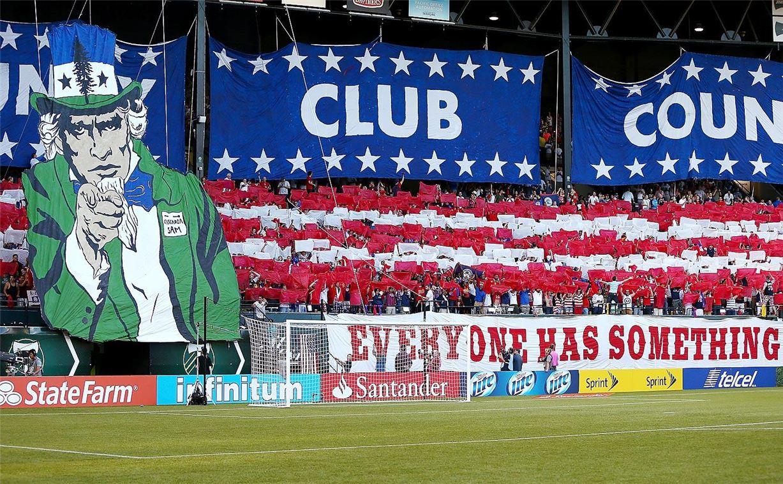 Soccer tifos / Гигантские баннеры футбольных болельщиков со со стадионов по всему миру - USA Team