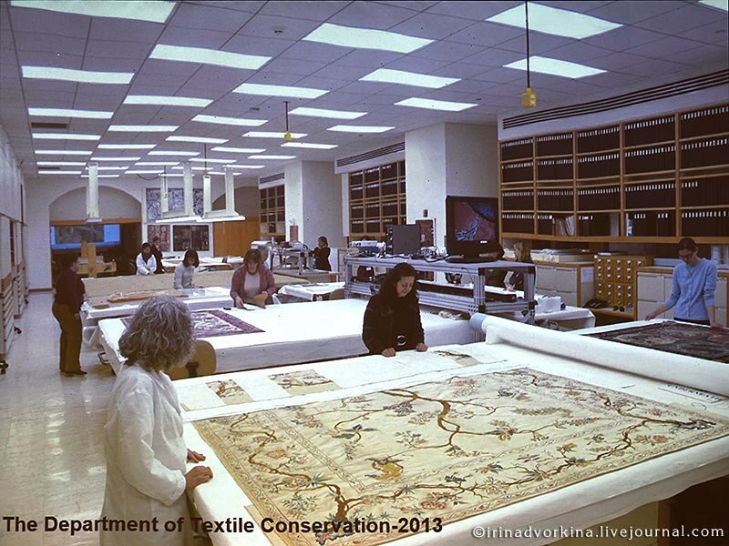 Реставрация тканей в Метрополитен-музее-2
