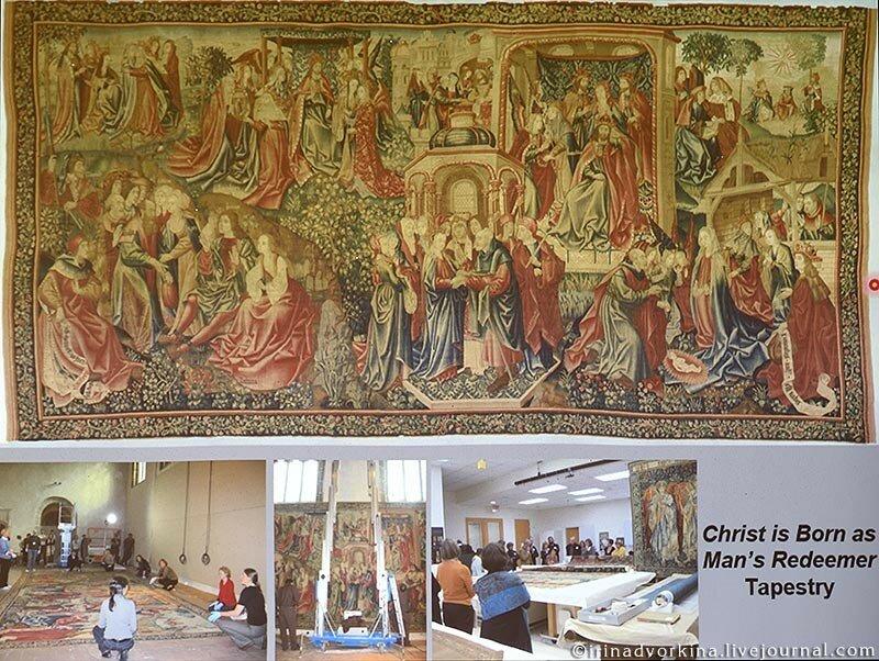 Реставрация тканей в Метрополитен-музее-17