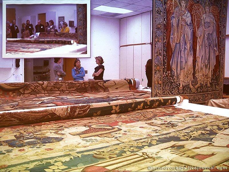 Реставрация тканей в Метрополитен-музее-18