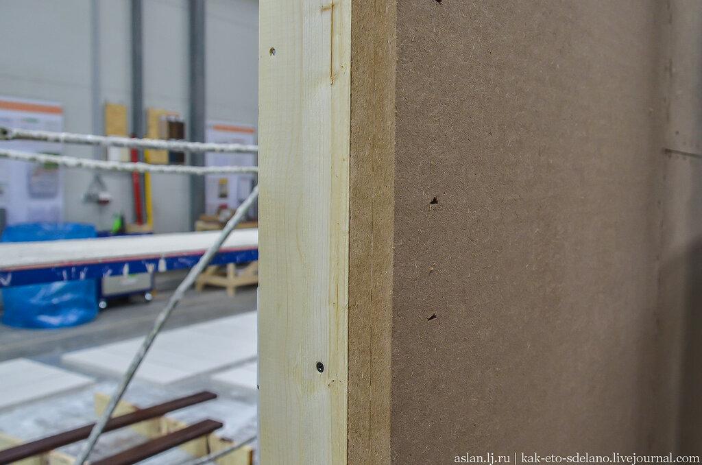 Как делают стеновые панели