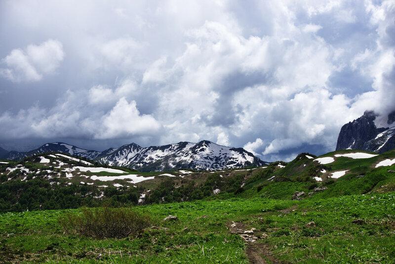 Снежный июнь