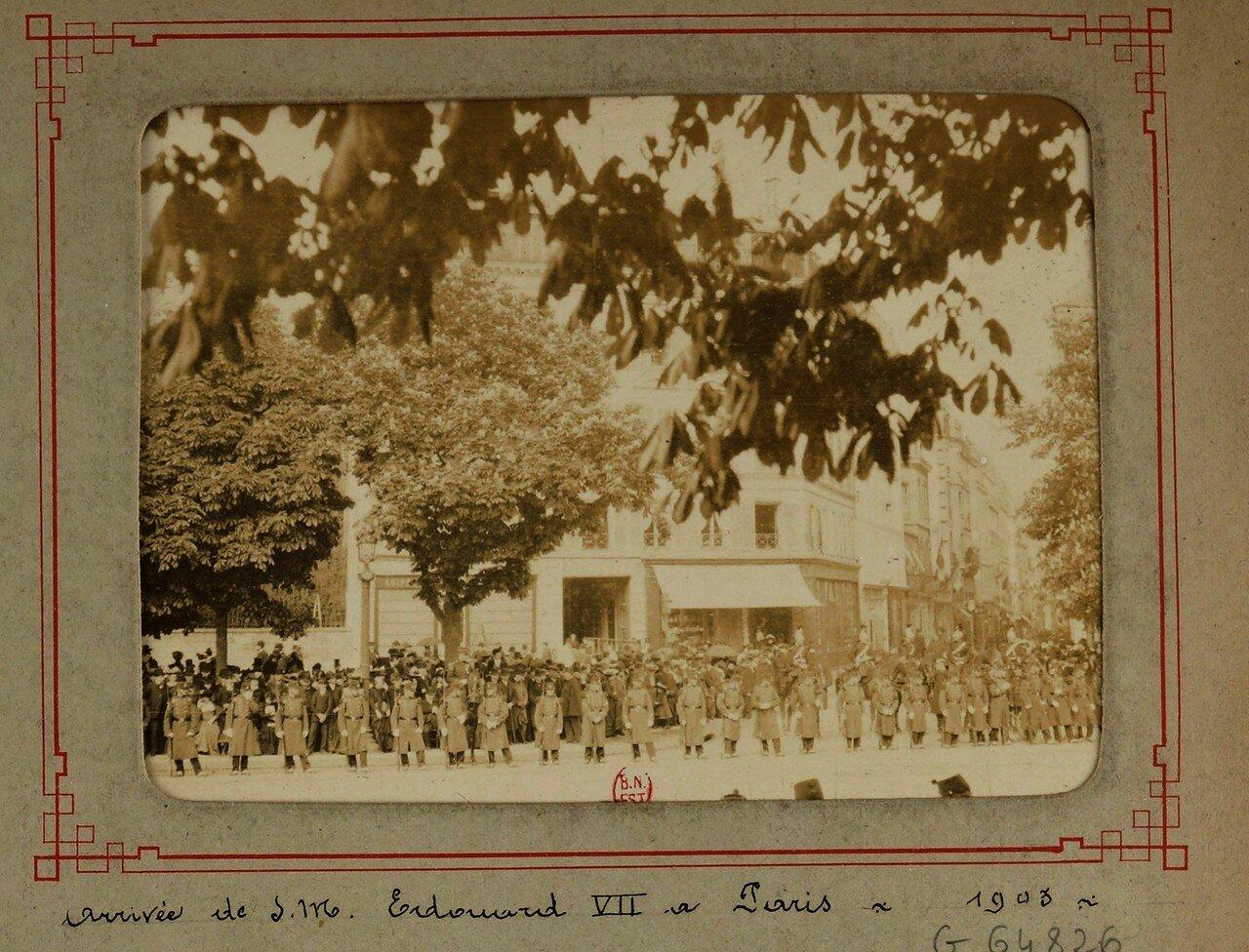 01. Визит короля Эдуарда VII в Париж