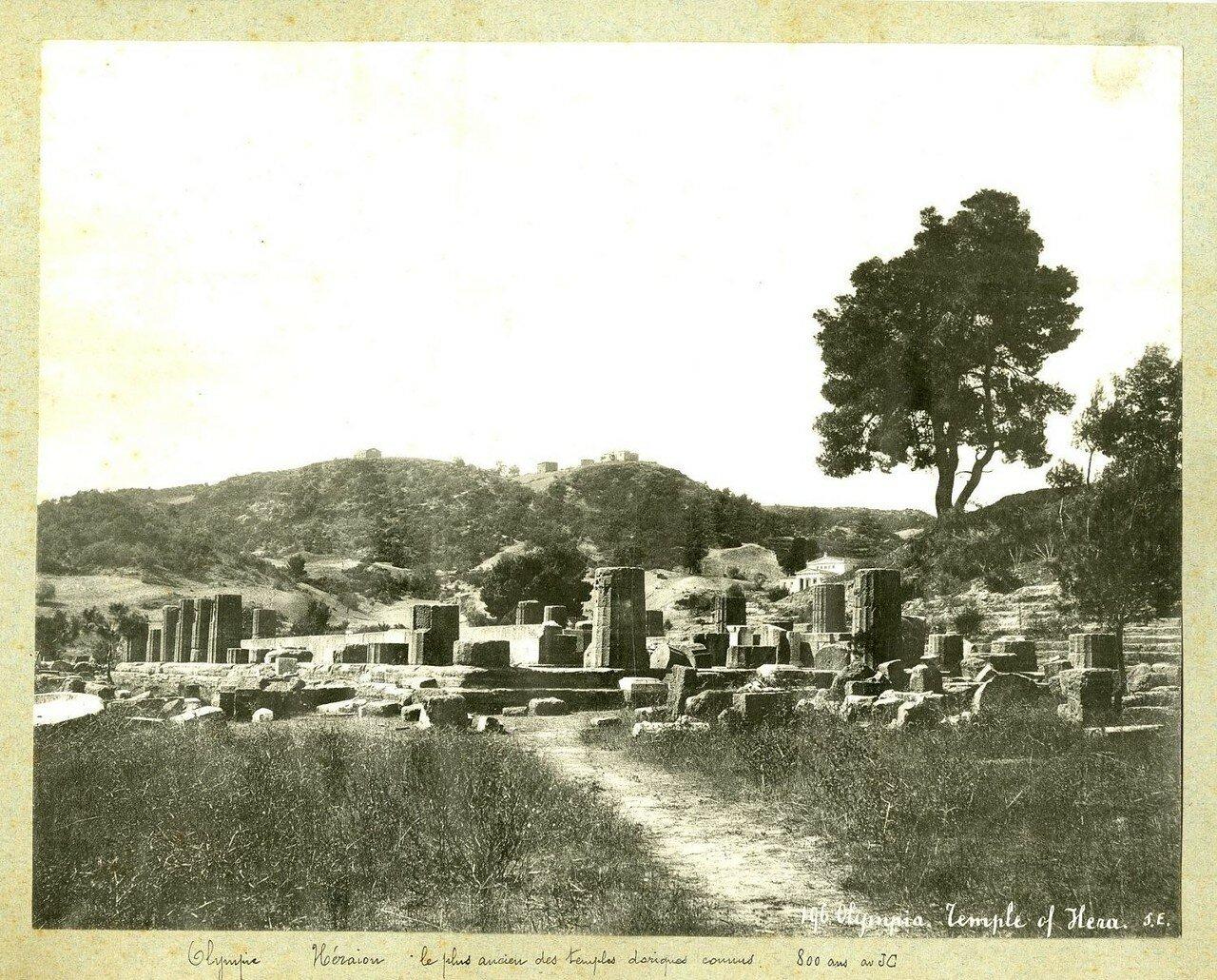 Храм Геры. 1890-е