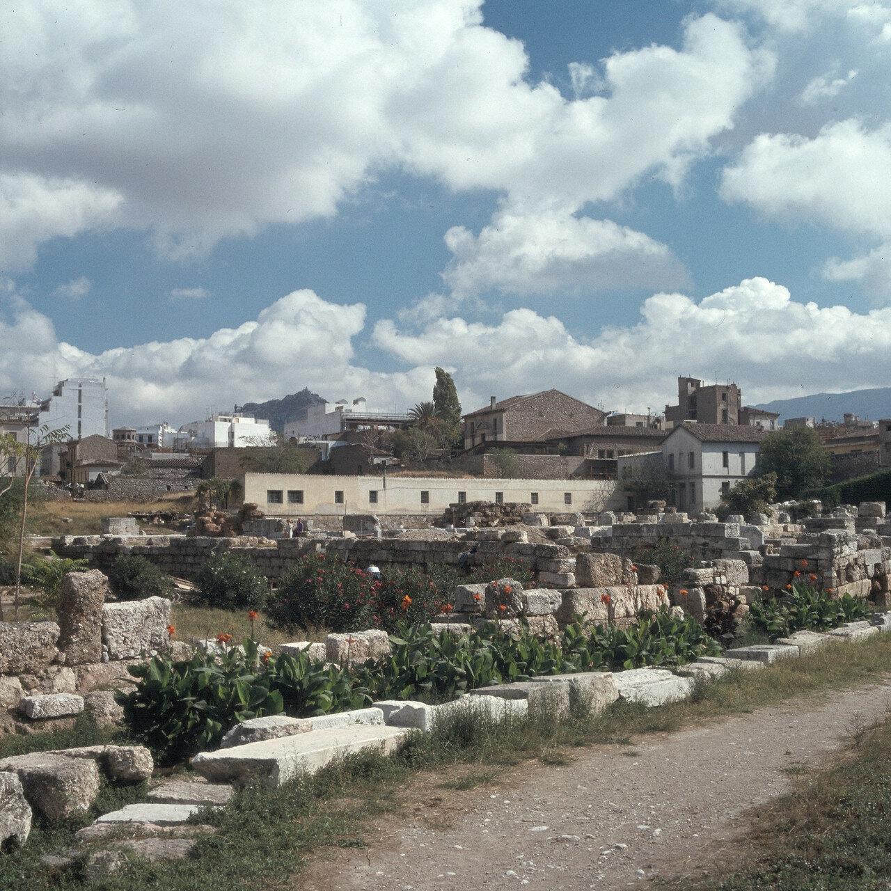 1970. Афины. Помпейон. Керамейкос, Эридан и Священный Путь