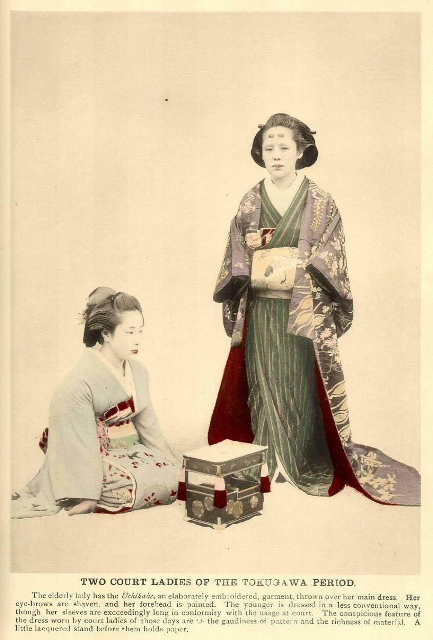 Два придворные дамы эпохи Токугава