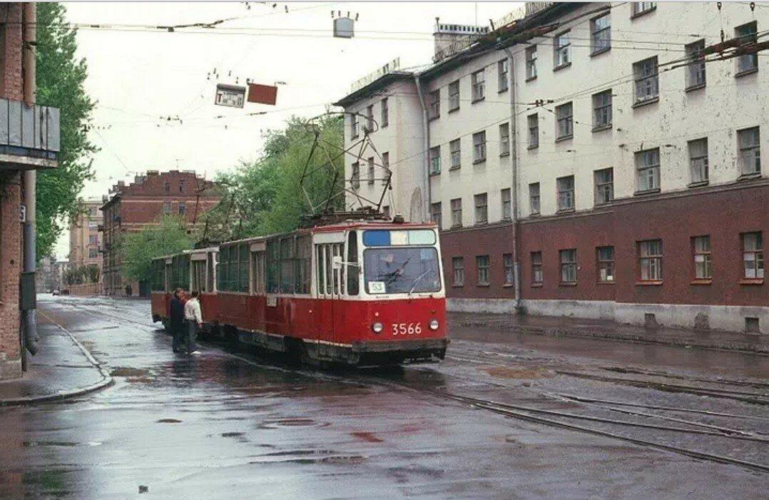 Улица Котовского у Большой Монетной