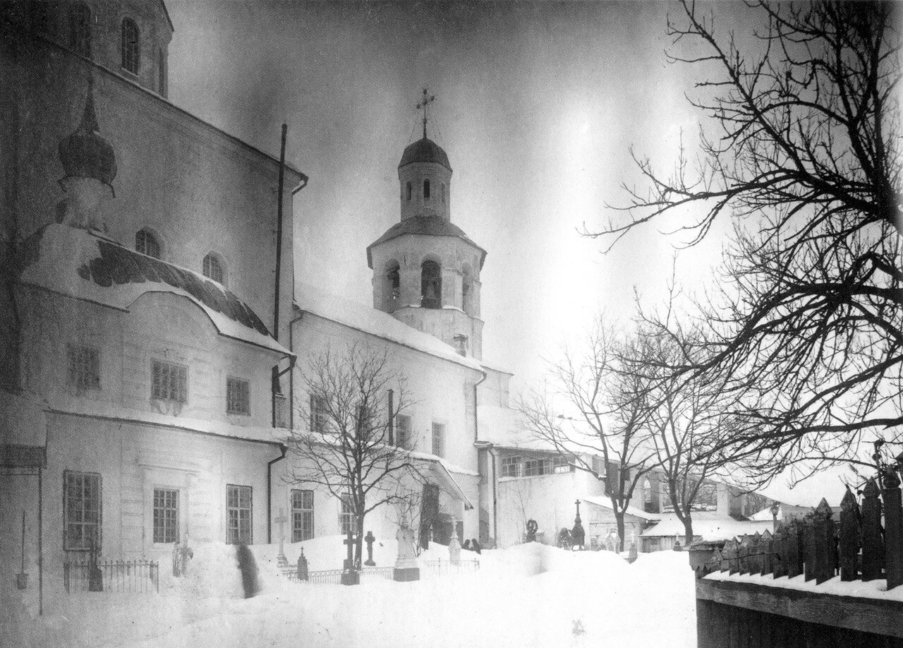 Кладбище у Вознесенского собора