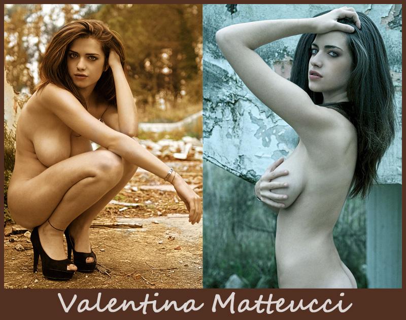 Молодая пышногрудая итальянка Valentina Matteucci