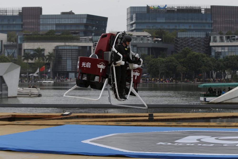 Реактивный ранец презентовали в Китае