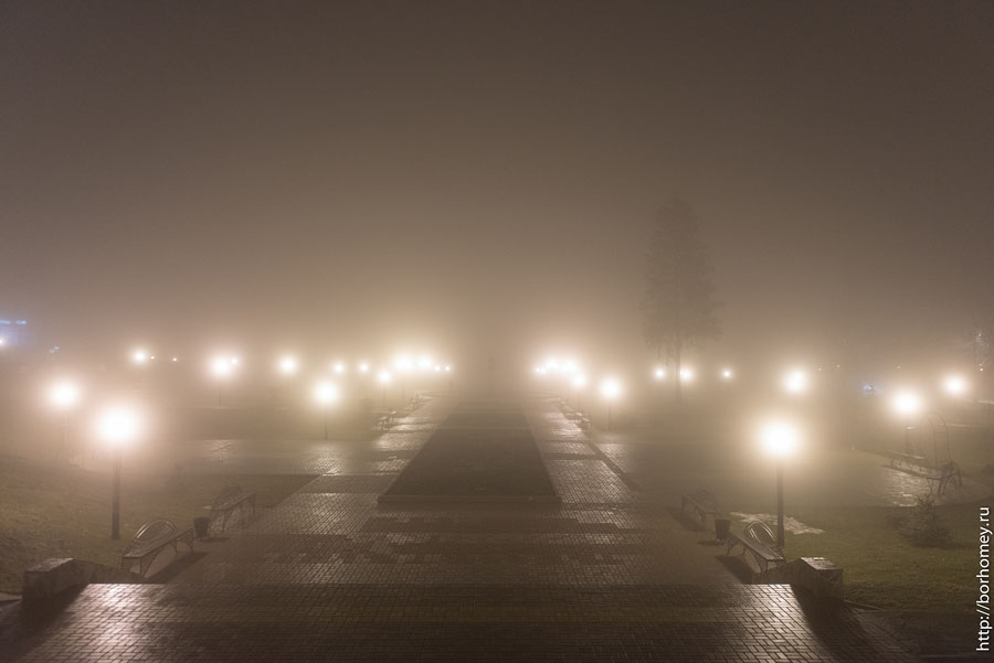 туман в сарове