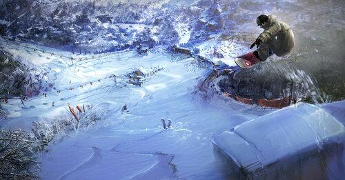Игры на сноуборде
