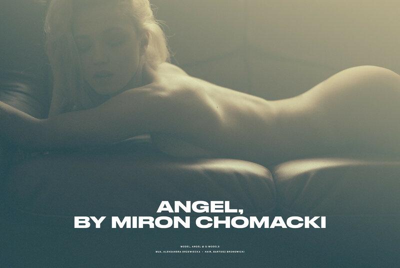 Angel by Miron Chomaki