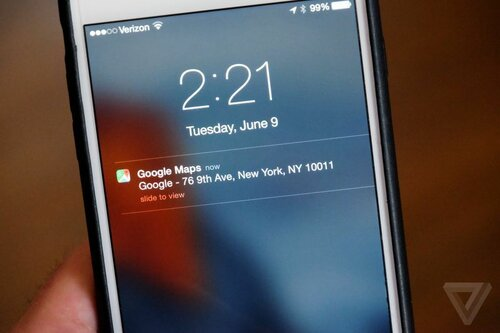Google позволил отправлять маршруты из Карт на устройства iOS