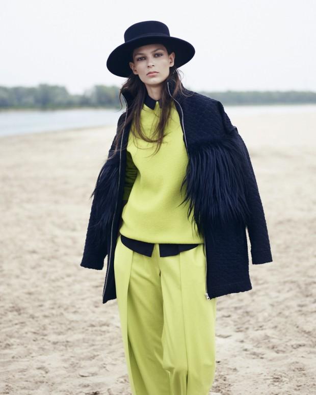 Эмилия Наваречка (Emilia Nawarecka) в журнале Harper's Bazaar Poland