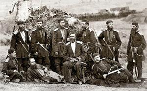 Етнически грузинци, офицери в състава на руската войска, участници в Освободителната война 1877-1878 г.