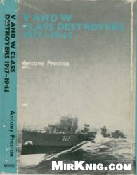 Книга V and W Class Destroyers 1917-1945