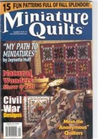 Журнал Miniature Quilts № 73