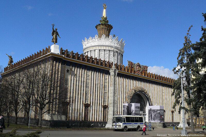 Весна. ВДНХ. Павильон Украина. 09.04.15.11..jpg