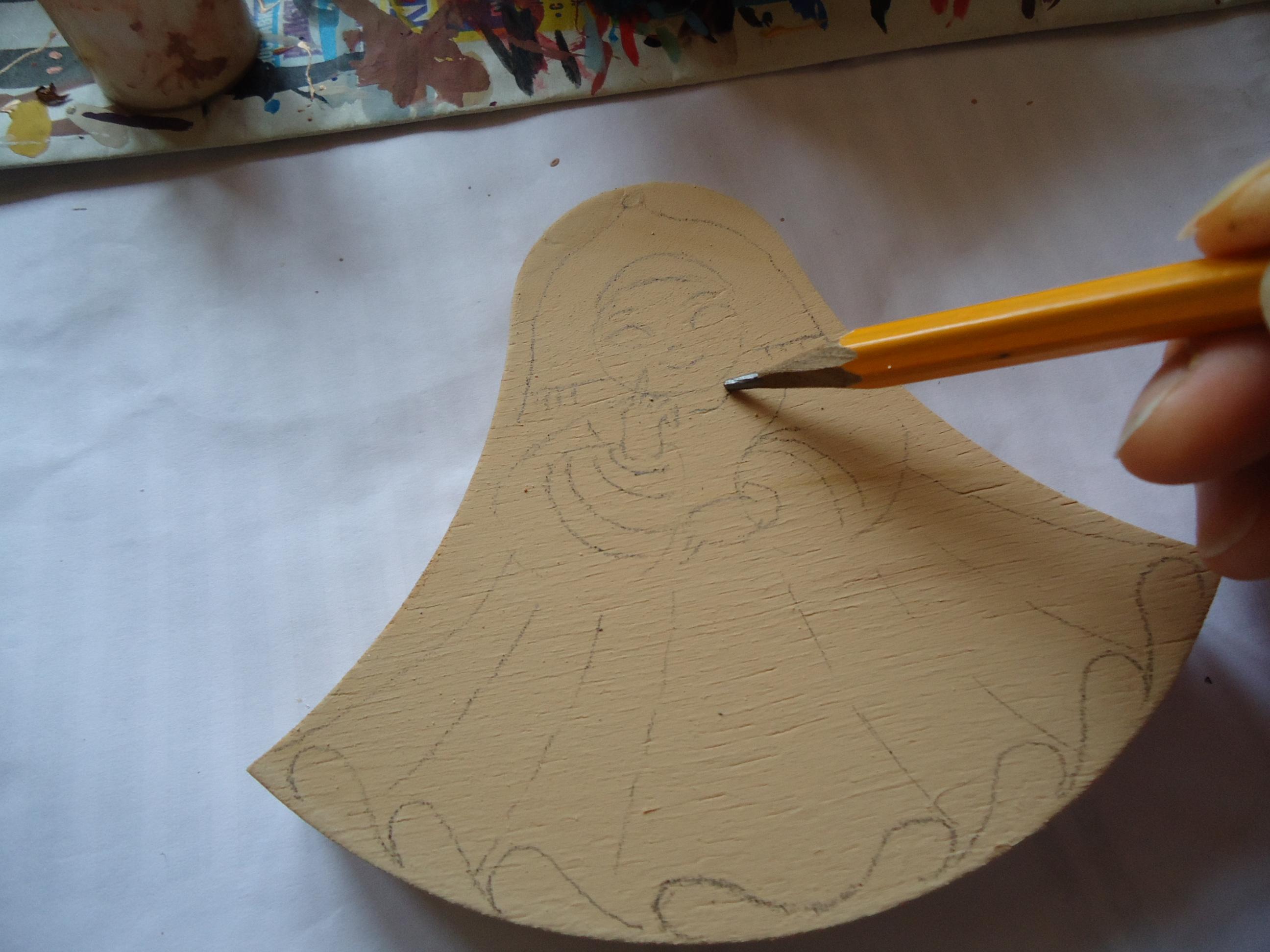 мастер-класс по росписи деревянной игрушки
