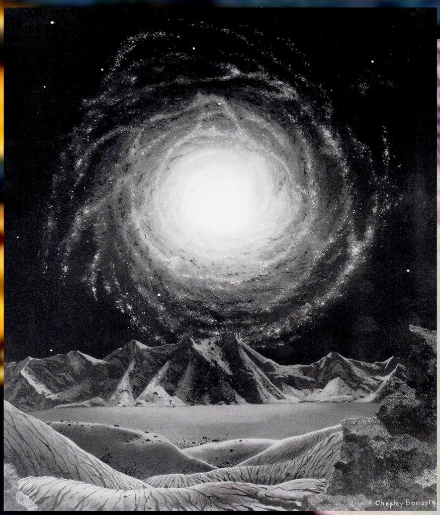Чесли Боунстелл. Американский художник. QMan_CB_TAOCB_2141_The_Milky_Way_Galaxy.jpg