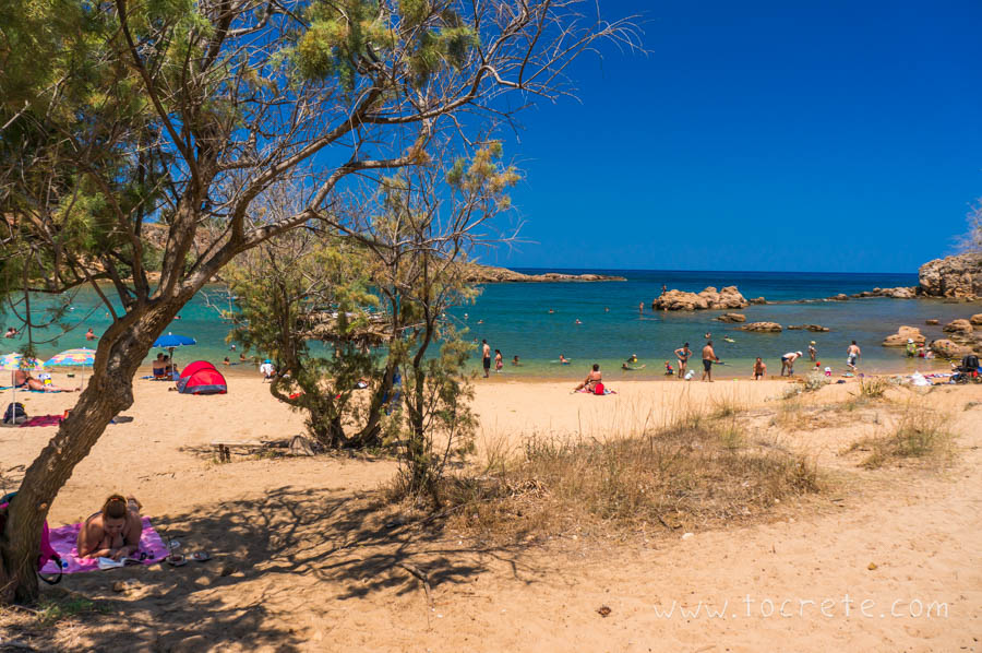Пляж Агии Апостоли | Agii Apostoli beach