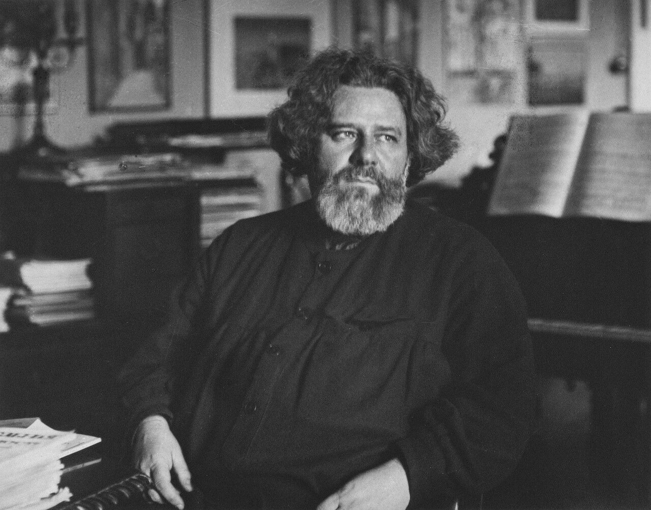 Портрет Максимилиана Александровича Волошина. 1921
