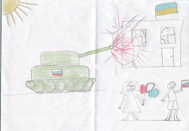 дети крым война феодосия рисунок