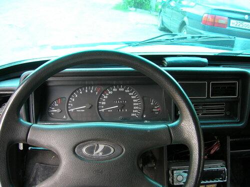Фото №20 - панель от ВАЗ 2110 на ВАЗ 2107