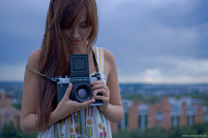 2641 девушка, Настя, город, портрет