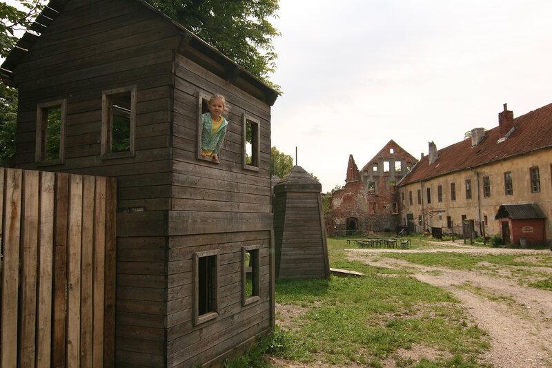 Черняховск, замок Инстербург