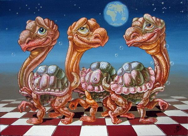 Марш лунных черепах