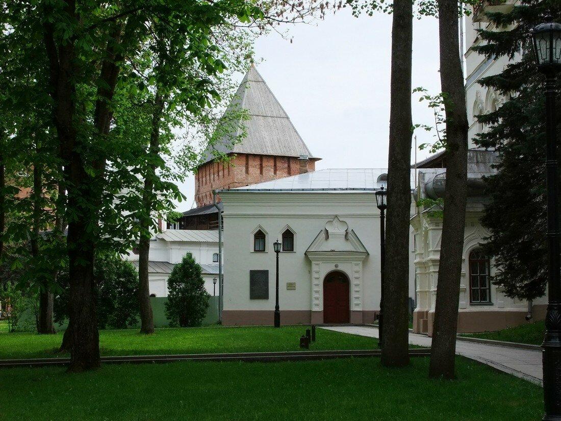 Кремль. Великий Новгород.