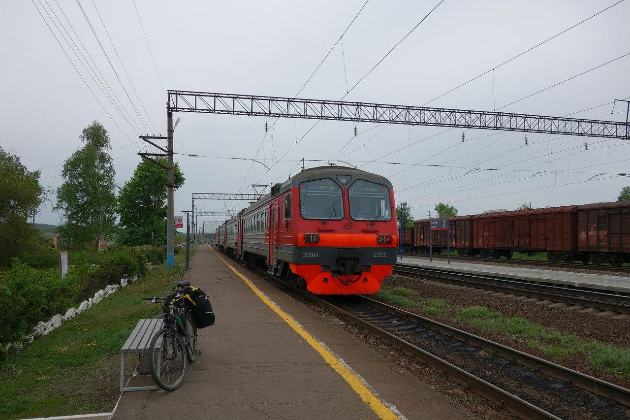 ЭД9М-0258 на станции Сагуны