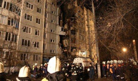 В Волгограде произошёл взрыв бытового газа в 9-ти этажке