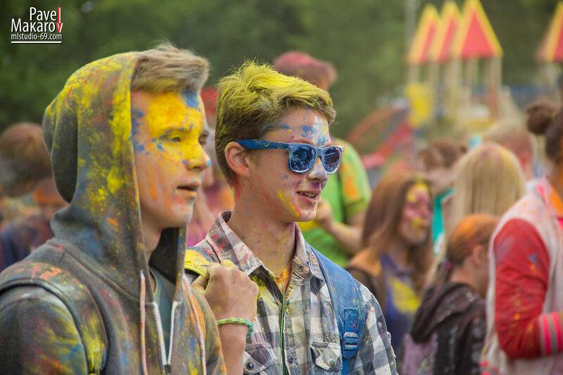 Фестиваль красок Холи 22.06.15