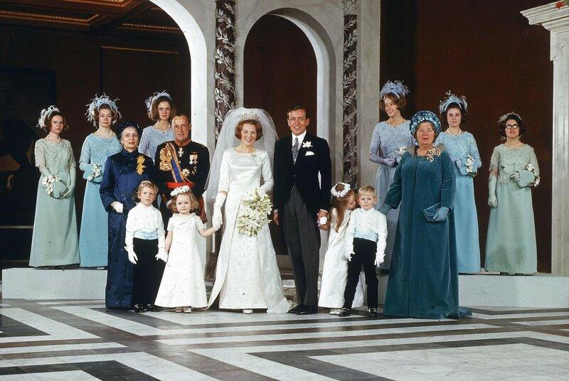 10 maart 1966. Свадьба сестры Беатрикс